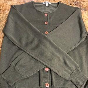 Emporio Armani vintage wool cardigan